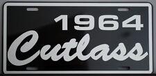 1964 64 OLDS OLDSMOBILE CUTLASS METAL LICENSE PLATE F-85 S 442 350 400 455 HURST