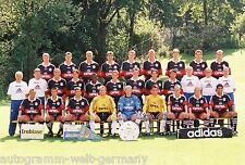 Mannschaftsfoto Bayern München 1997-98 seltenes Foto+2