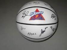 Saint Johns Red Storm Team Signed Full Size Logo Basketball St. Make Offer COA