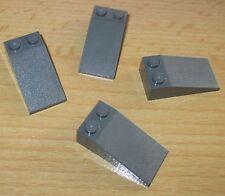 Lego Starwars - Dach-Schräg Steine 2x4 in Neu dunkel Grau - 30363