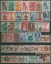 VATICAN STATE SUPERB USED COLLECTION IN SETS AND PART SETS CIRCA 1980'S +COVERS