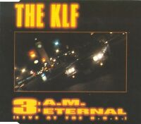 The KLF Maxi CD 3 A.M. Eternal (Live At The S.S.L.) - France (VG/EX)