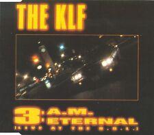 The KLF Maxi CD 3 A.M. Eternal (Live At The S.S.L.) - France (VG/EX)