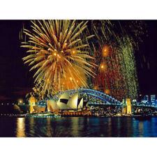 Diamond Painting Kit Gorgeous Sydney Bay Night View Sydney Opera House Z074B