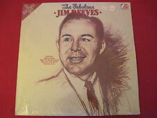 THE FABULOUS JIM REEVES - CAMBRA CR 048 (UK)  SEALED MINT 2 LP COUNTRY