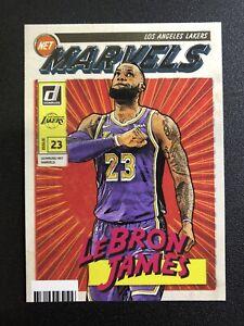 2019-20 Donruss Net Marvels LEBRON JAMES #19 Lakers Hot Insert SP - Read!