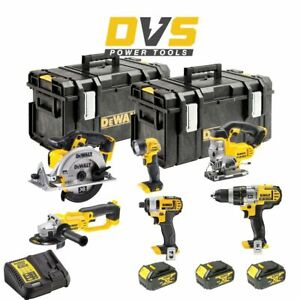 DeWalt DCK692M3 Cordless 18V XR 6 Piece Power Tool Set w/ 2 Cases & 3x4Ah Batts