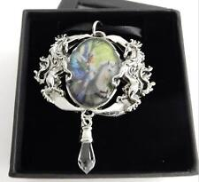 Anne Stokes Enchanted Cameos necklace Realm Of Enchantment art work Unicorn