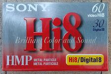 Sony Hi 8 / Digital 8 Camcorder Videotape Videocasette P6-60HMP Brand New/Sealed