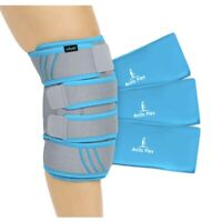 Vive Knee Ice Pack Wrap - Cold/Hot Gel Compression Brace - Heat Support Strap