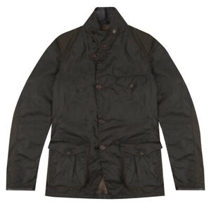 Barbour Beacon Sports Jacket Olive - SALE
