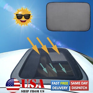 Magnetic Sunroof Sunshade Cover Moon Roof Mesh Camping Tent Awnings Bugs Screen
