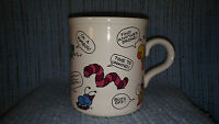 VINTAGE AMERICAN GREETINGS COFFEE CUP-MUG-INSECTS BEES-DESIGNERS COLLECTION-GUC