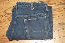 Oshkosh Plaid Lined Denim Jeans  31W X 30  Vintage USA tag says 34x30