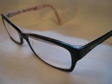 Cool RAY BAN Vintage Women's RX  Eyeglasses Black/White/Red Plastic Frames