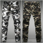 Men's Combat Military Camouflage Army Camo Fashion Cargo Pants Casual Trousers