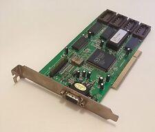 PCI CARD S3 VIRGE DX ON BOARD Q5E4BB BIOS 1986 VGA Tarjeta Gráfica Graphic