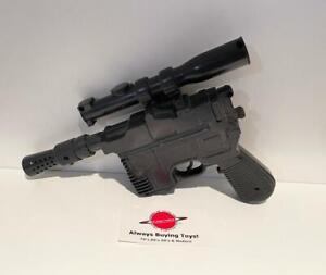 1978 Han Solo Blaster Complete Vintage Star Wars Kenner Prop Toy Gun Accessory