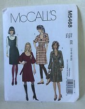 McCall's M5468 Sewing Pattern UNCUT Size EE 14-16-18-20 Misses dress jumper 2007