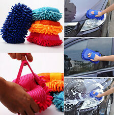 Car Hand Soft Towel Microfiber Chenille Washing Gloves Coral Gloves Cleaning