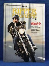Ripper Magazine Vol.11 Old School Chopper Bike Morterbycycle Japan