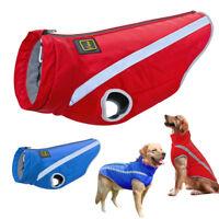 Dog Winter Coat Waterproof Windproof Clothes Reflective Jacket Schnauzer 2XL-5XL