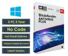 Bitdefender Antivirus Plus - 5PC 1095 Day(Central Account - eDelivery) - No Code