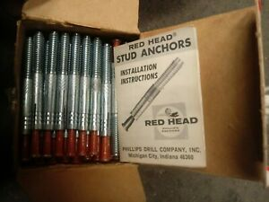 RED HEAD Stud Concrete Anchor JS-14H (100pcs)