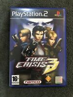 Time Crisis 3 (Sony PlayStation 2, PS2) pal