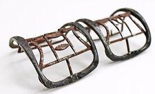 Beautiful, mid-late 18th Century Shoe Buckles. Sheet Silver, Bronze, & Steel