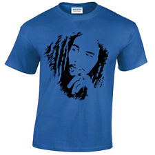 Bob Marley Mens T-Shirt Reggae Jamaica Wailers Jamaican Flag S-5XL
