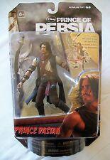 "McFarlane Prince of Persia 6"" Deluxe Príncipe Dastan (desierto) figura, arrugada tarjeta"
