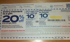 Bed Bath & Beyond Coupons  2- $10.00 off $30 and 3 - 20% off One Item  Online/In