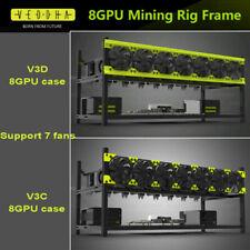 V3D/V3C Veddha 6/8GPU Stackable Frame Open Air Mining Rig Case Ethereum LTC BTC