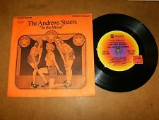 THE ANDREWS SISTERS - MINI LP STEREO ABC PRO-2-1023   / LISTEN - VOCAL  GROUP