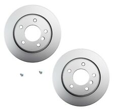 Pair Set of 2 Rear Hella Pagid Brake Disc Rotors 294mm For BMW E46 325i 323i