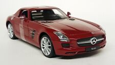 Nex Models 1/24 Scale - Mercedes Benz SLS AMG Red C197 Diecast model car