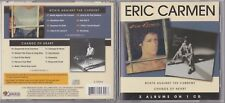 Eric Carmen - Boats Against the Current/Change of Heart (CD, Nov-2007) RARE