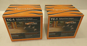 Tiger Claw TC-1 Softwood Deck Fasteners for Pressure-Treated Cedar and Redwood