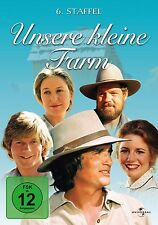 DVD UNSERE KLEINE FARM - STAFFEL 6 (Season) - Box-Set - MICHAEL LANDON ** NEU **