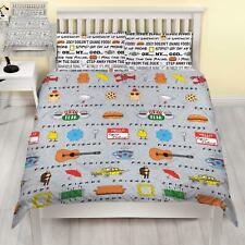 Friends Manhattan Double Duvet Cover Set Reversible  Bedroom Boys Girls