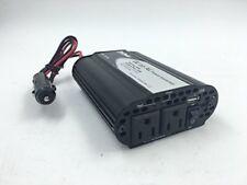 TruePower 150W Power Inverter 12V DC to 110V AC Car Inverter with USB Ports