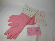 2 Pairs Latex Gloves The Pampered Chef Kitchen Gloves NOS Pair Pink Gloves