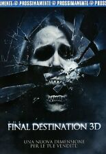 THE FINAL DESTINATION  3D   2 DVD    HORROR