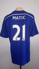 Football shirt soccer Chelsea (The Blues) Home 2014/2015 Adidas jersey Matic #21