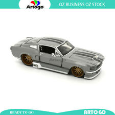 Design CLASSIC Muscle 1967 Ford Mustang GT Gray scale 1:24 model car diecast toy