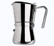CAFFETTIERA ACCIAIO GIANNINI 6 TZ TAZZE LA GIANNINA CAFFè INDUZIONE 103I mshop