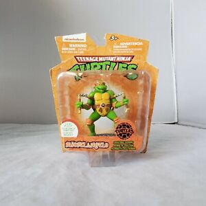 Teenage Mutant Ninja Turtles MICHELANGELO Collectable Figurine Nickelodeon Clip