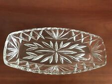 CRYSTAL BOWL PLATE CANDY DISH JEWELRY HOLDER