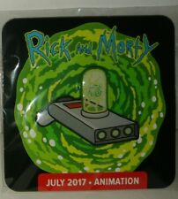 Loot crate DX exclusive Rick and Morty Portal Gun Pin - lootcrate animation New